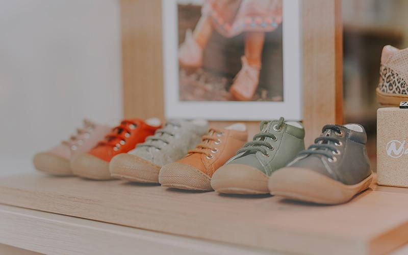 Boutique pour enfants et vente de chaussures à Rennes chez Pattine